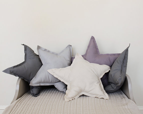 Large Animal Shaped Pillows : Playful wonderland by Colette Bream Bamboola Baby