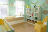 Gender specific nursery design without stereotyping