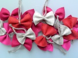 DIY Bow Ornaments for your Christmas Tree – affordable & super easy – no sewinginvolved