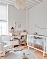 Neutral & white nurseries perfect for both genders