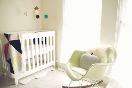 Neutral white nurseries perfect for both genders for Chambre gender