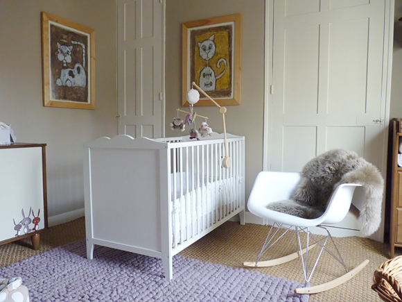 Neutral white nurseries perfect for both genders bamboola baby - Ikea deco chambre bebe ...