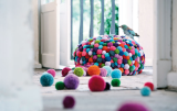 Bamboola loves pom-pom furniture by MYK Berlin