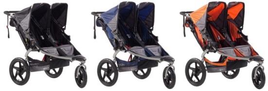 BOB Revolution SE Duallie double stroller