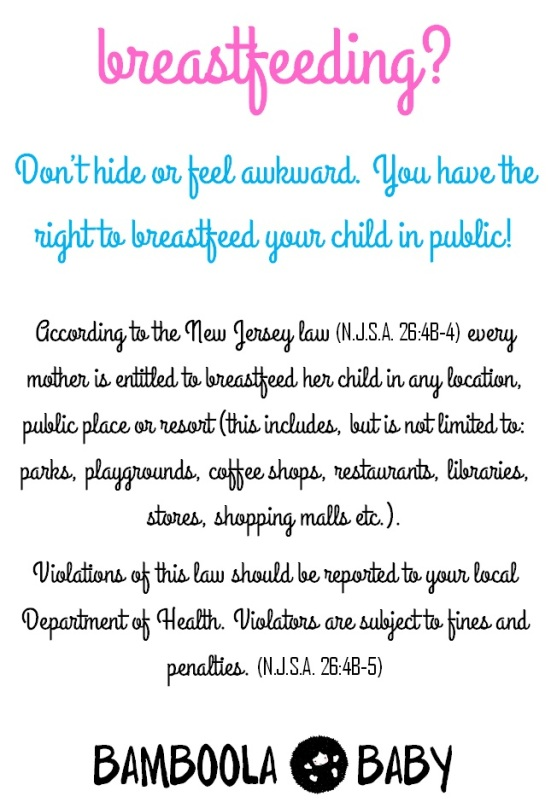 Breastfeeding Law NJ