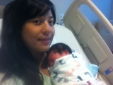 Roman's birth story (natural birth in a hospital / water birth withhypnobirthing)
